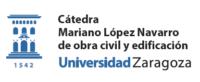 logotipo de la Cátedra Mariano López Navarro de la Universidad de Zaragoza