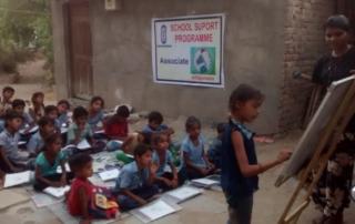 MLN colaboracion escuelas India