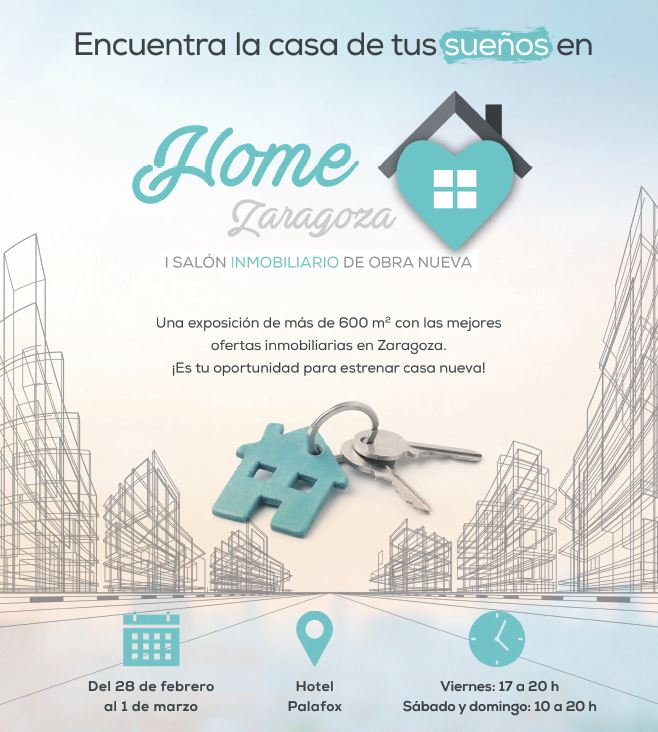Grupo MLN participa en el I Salón Inmobiliario Home Zaragoza