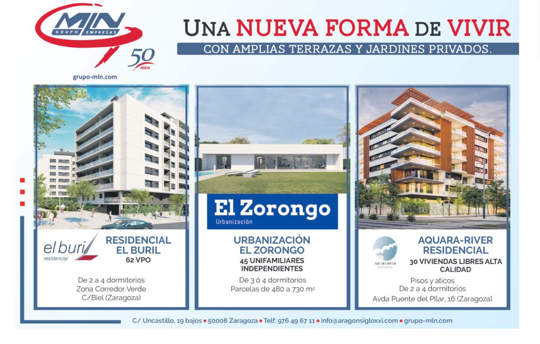 Nuevas promociones de vivienda a la venta