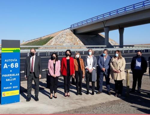 Inauguración de la autovía A-68. Tramo: Figueruelas – Gallur