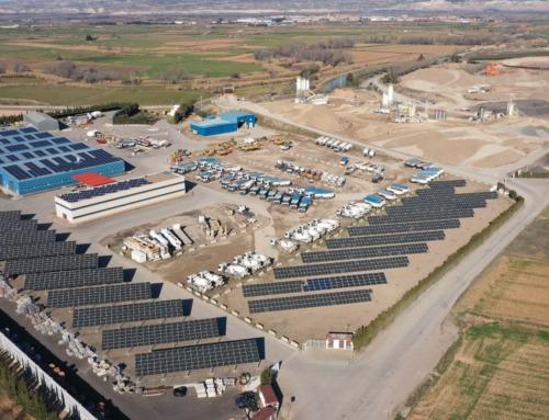 Nueva instalación fotovoltaica en Centro de Producción de Bárboles